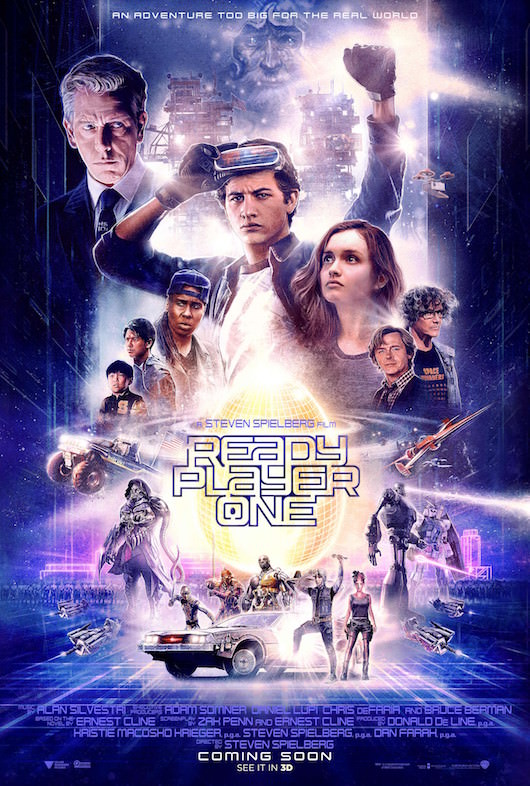 Ready Player One Proves Spielberg Still Has a Trick or Two Up HisSleeve