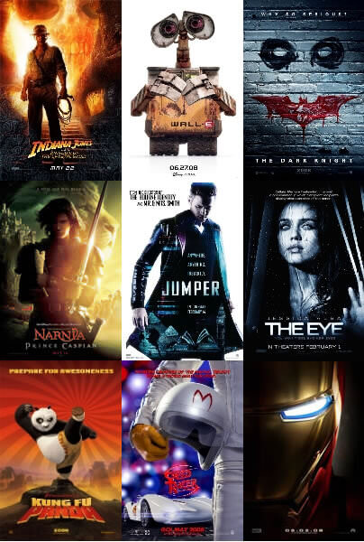2008: Remembering a Banner Year inFilm